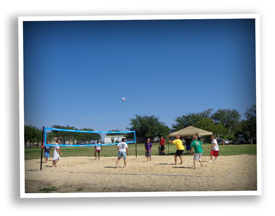 New Sand Volleyball Pit And Workout Room Creates Community