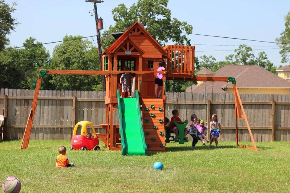 New Playground Amp Fence At Houston Women Amp Children S