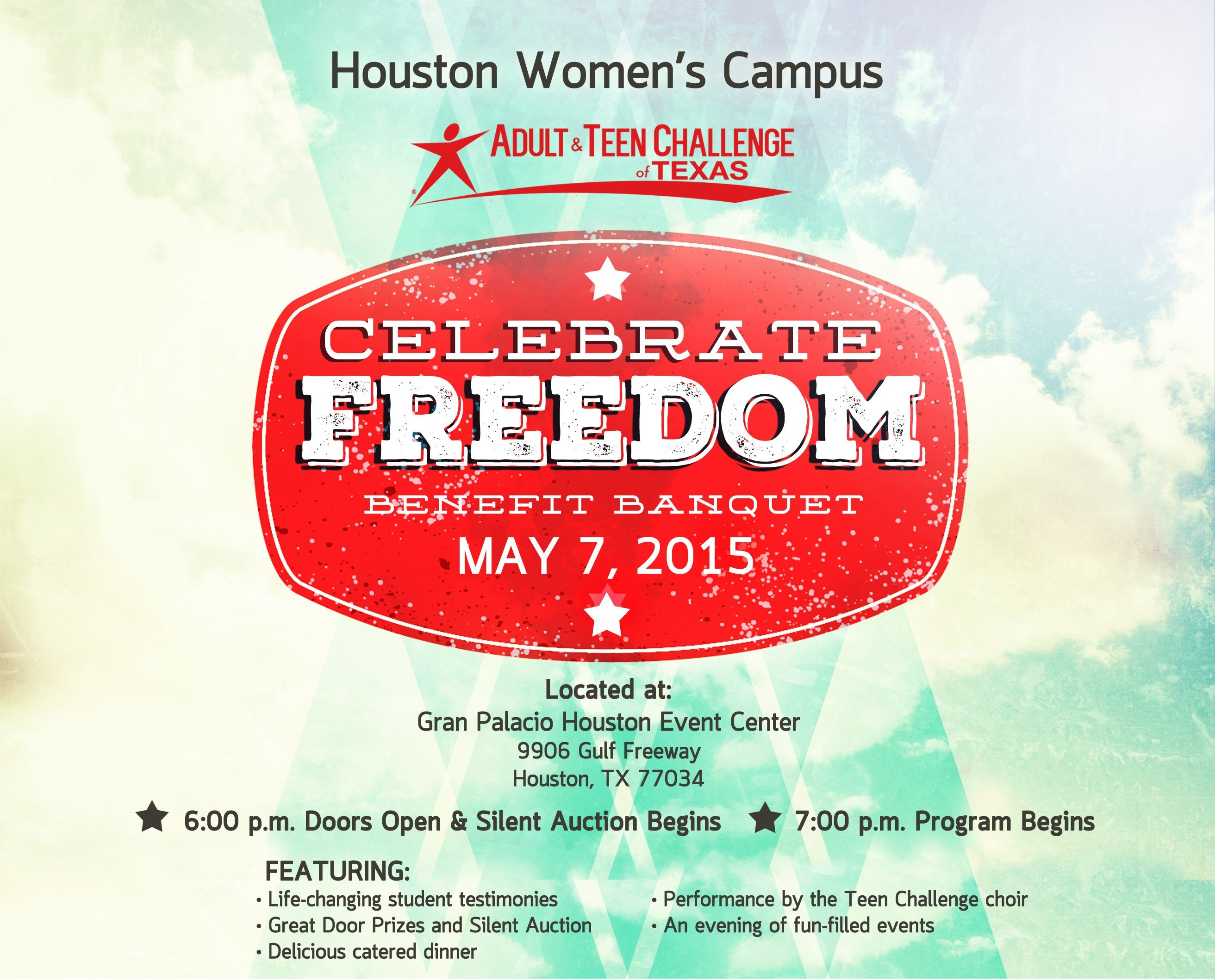 Houston Womens Banquet May 7th Adult Teen Challenge Of Texas