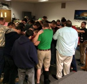 Azle men spiritual emphasis week.