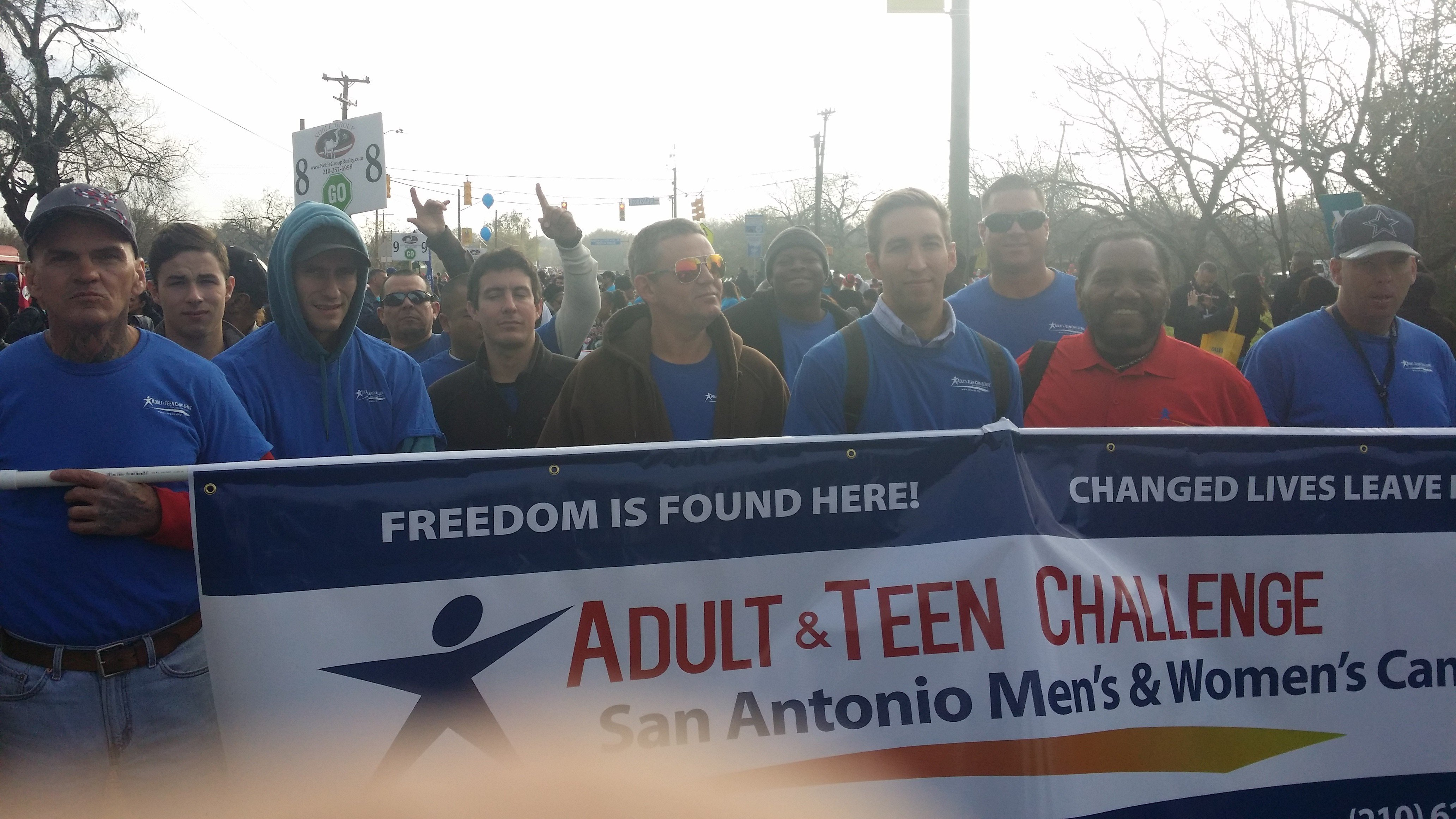 Atcot San Antonio Men March In Annual Martin Luther King