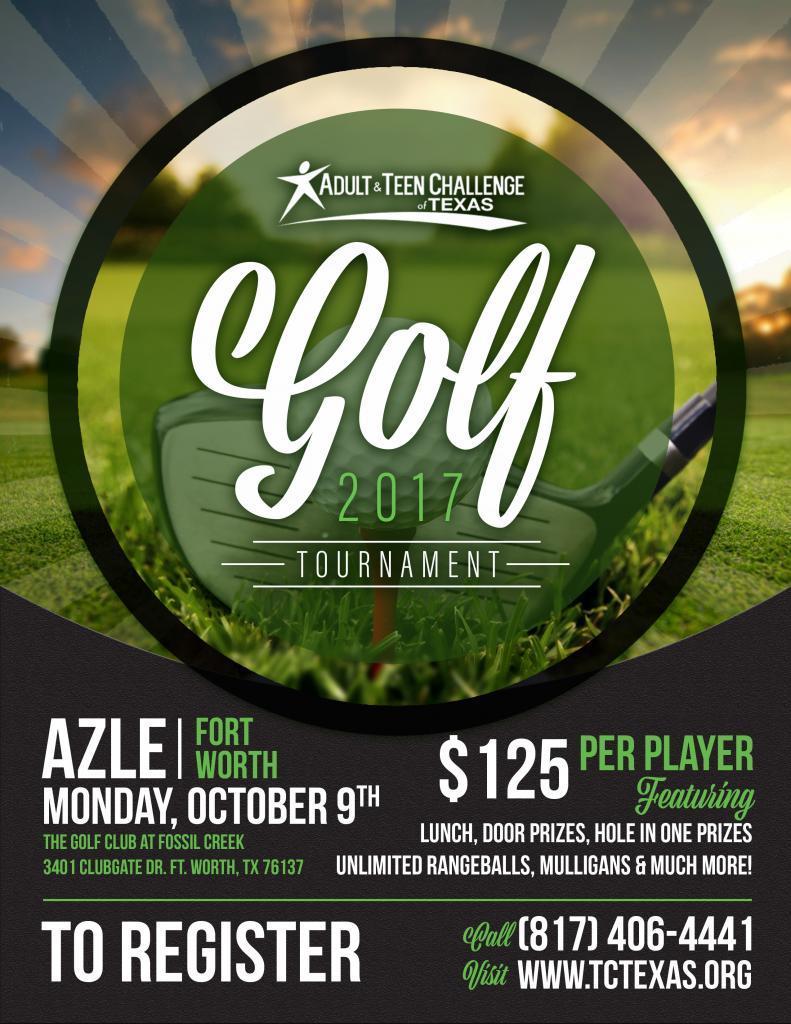Golf Flier- Azle