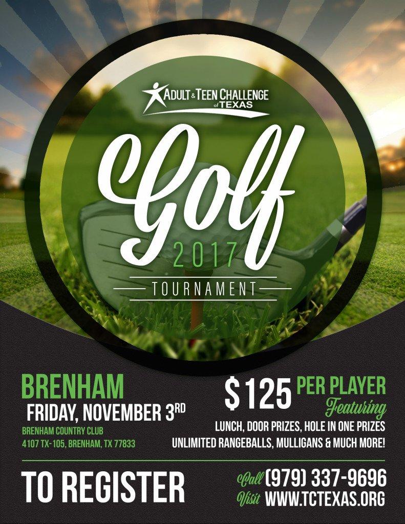 Golf Flier- Brenham