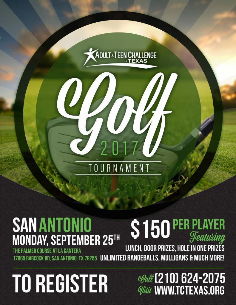 Golf Flier= San Antonio
